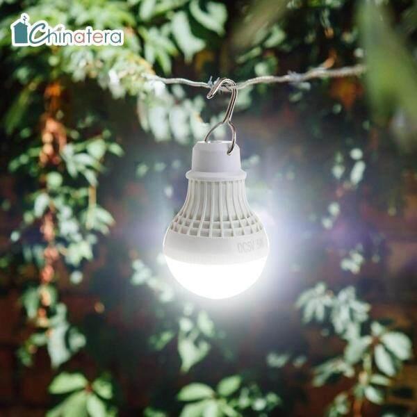 [Chinatera] 5W LED Cầm Tay Bóng Đèn Cắm Trại Ánh Sáng Dùng Nguồn USB Đi Bộ Ngoài Trời Lều Treo Đèn Khẩn Cấp Đèn Ngủ