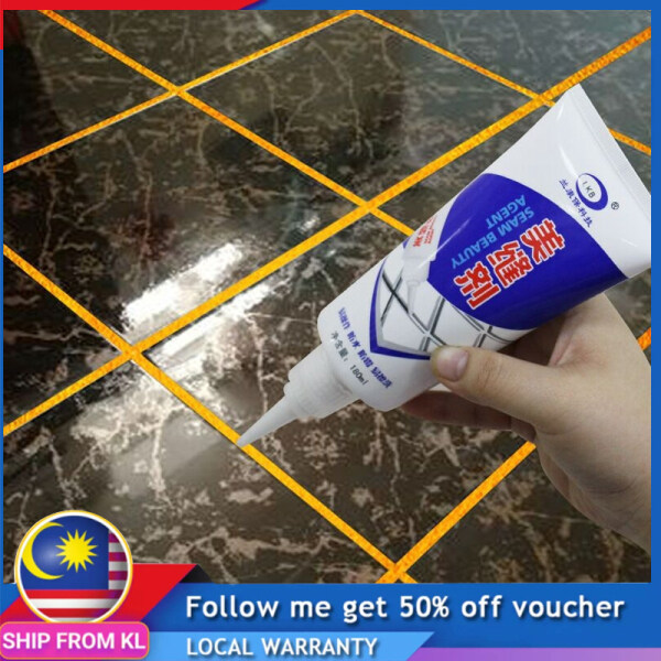 【Malaysia Ready Stock】Tile Grout Repair pen sealant Gap filler Waterproof Mouldproof Filling Agents Wall Porcelain Tile floor cleaning too