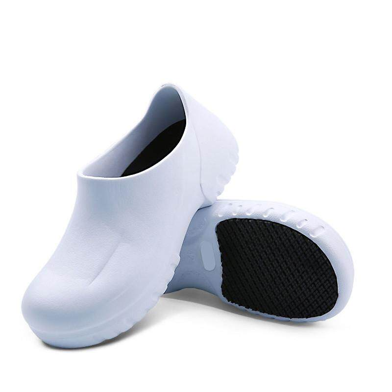 Mens Chef Shoes in Kitchen Nonslip Safety Shoes Oil /& Water Proof For Cook EVA