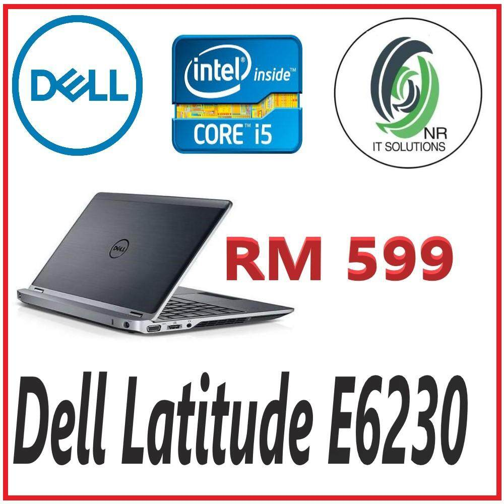 (Refurbished) Dell Latitude E6230 ( intel Ci5 2.7GHz-3rd Gen/4GB RAM/128GB SSD /12.5 Inch / Win7Pro Malaysia