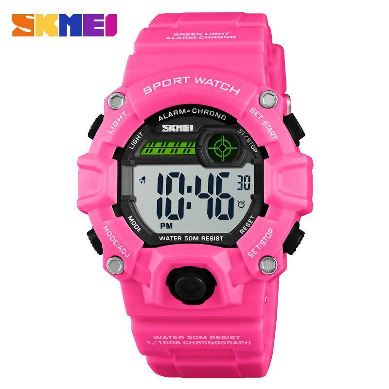 SKMEI New Women Sports Watches Waterproof Watch Backlight Fashion Digital Wristwatches Female Clock Jam tangan wanita 1484 Malaysia