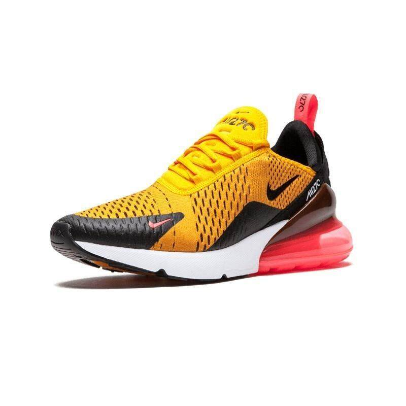 Travel shoes Trend Shoes 100% Nike_Air_Max 270 Mens Running Shoes Mesh Stability Support Sports Sneakers High Quality Shoes