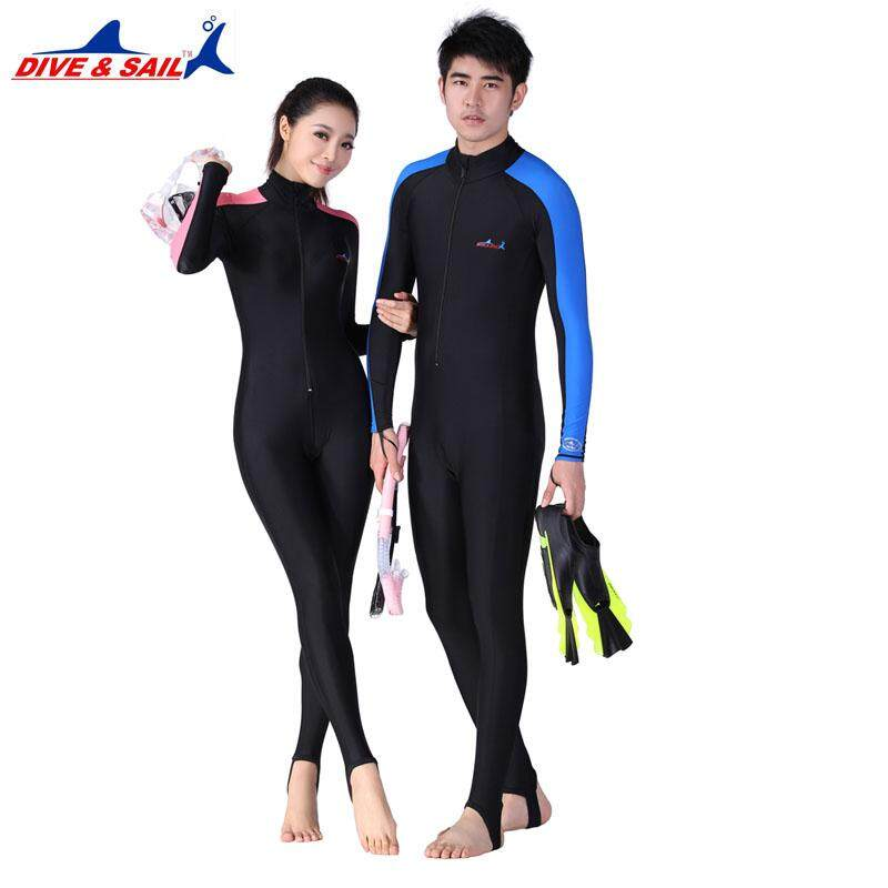 4e5dfaeb46 DIVE SAIL Lycra Scuba 0.5MM Dive Skins for Men or Women Snorkeling  Equipment Water Sports Wet