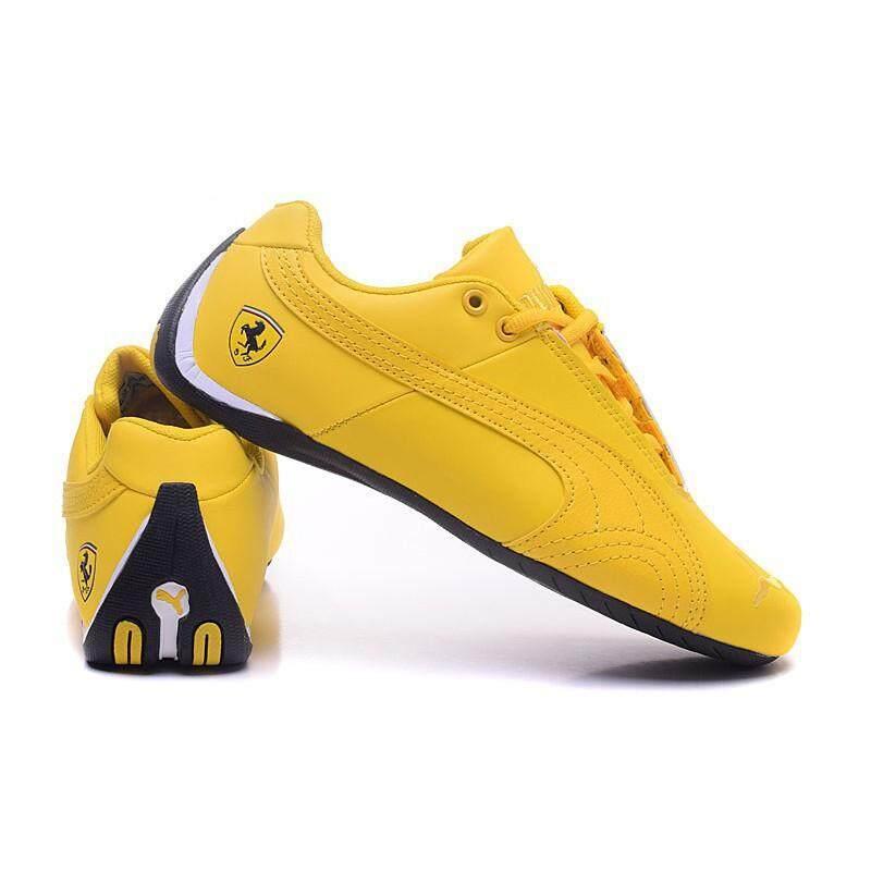 SLK ★ Original Puma Ferrari leather Sports shoes Casual Shoes men sneakers fashion