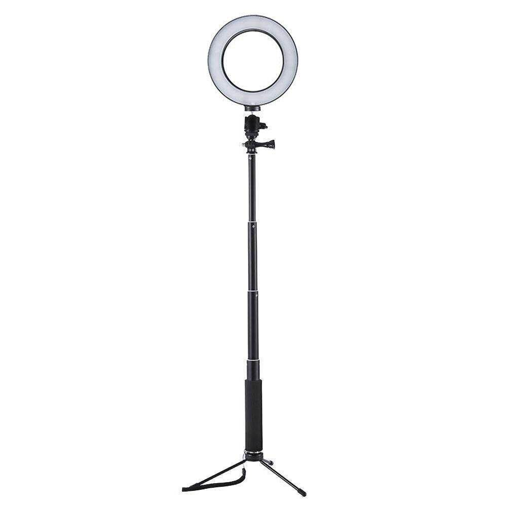 Outflety Led Ring Light With Tripod Stand, Selfie Ring Light Photo Phone Video Light 64led Mini Led Camera Light Desktop Led Lamp 3 Light Modes For Smartphone, Youtube, Self-Portrait Video By Outflety.