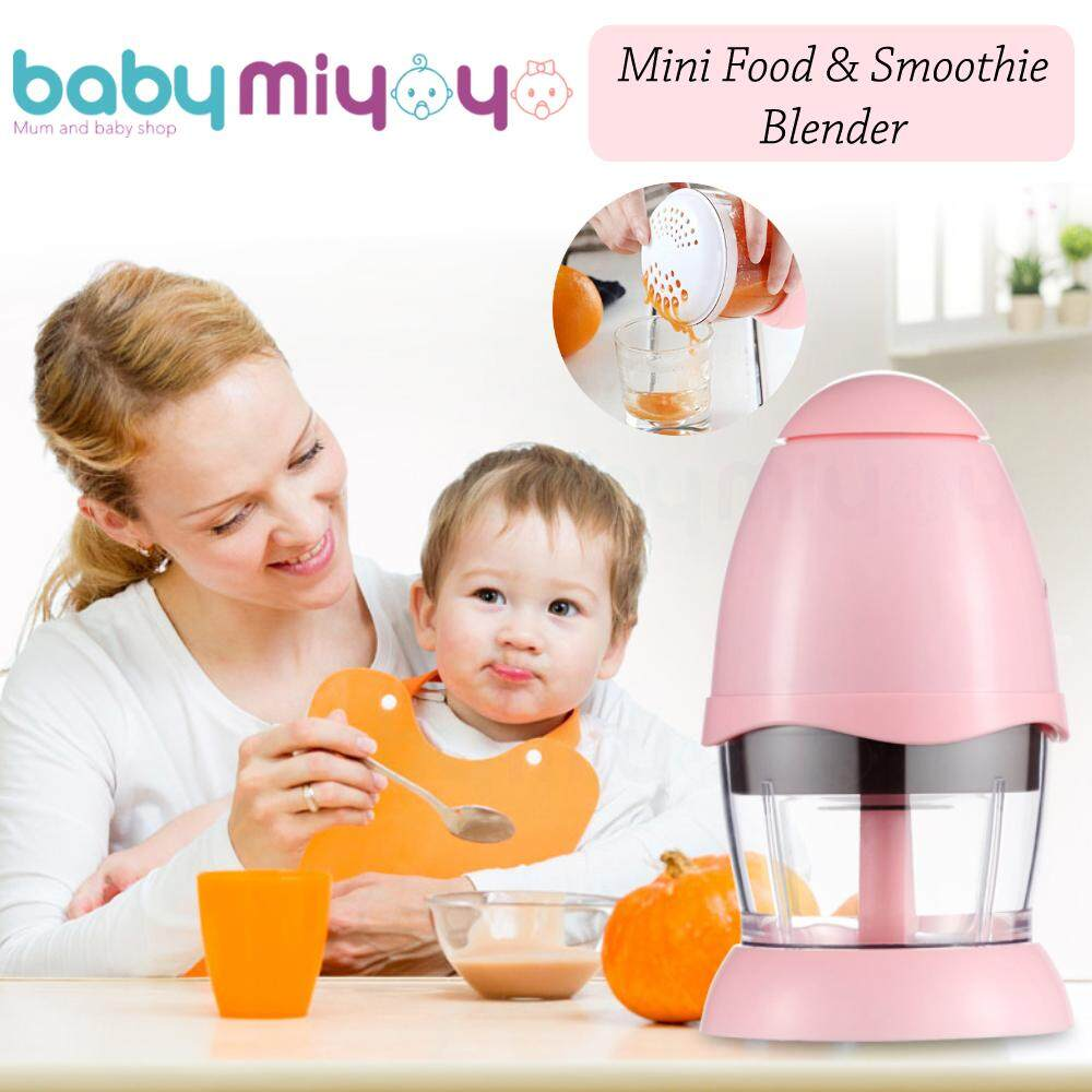 Baby MiyOyO RS586 Baby Food Blender Mini Chopper Food Processor Mini Blender Smoothie Maker for Baby Food image on snachetto.com
