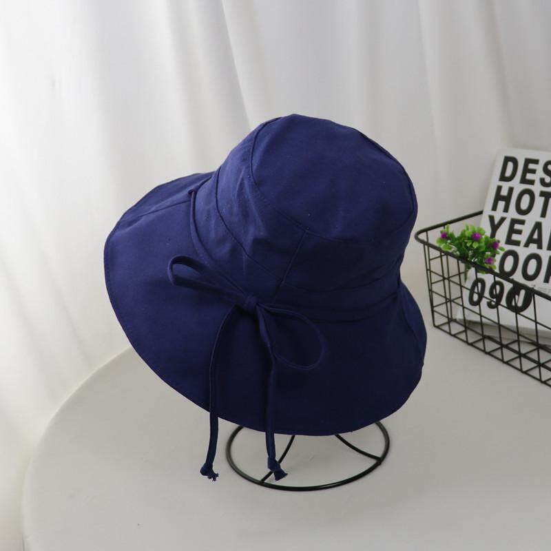 19a5461c8 Korean version of the casual wild sun hat female summer travel sun  sunscreen fisherman hat Japanese