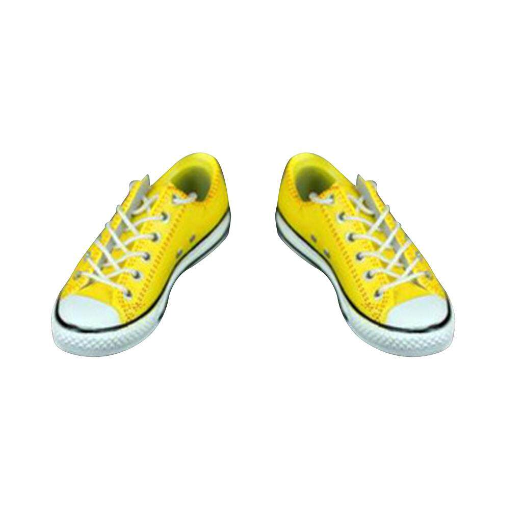 Kesoto 1/6 Scale Canvas Shoes Clothing Accss Fit for 12in. Hot Toys Side