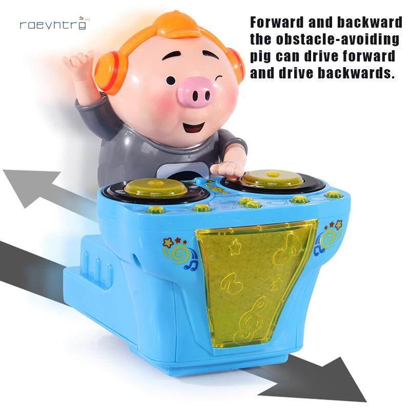 Rae DJ Nhạc Điện Lợn Đồ Chơi Điện Đồ Chơi Âm Nhạc Âm Nhạc Nhảy Múa Lợn Với Nhiều Màu Sắc Đèn Nhấp Nháy Cùng Giá Khuyến Mãi Hot