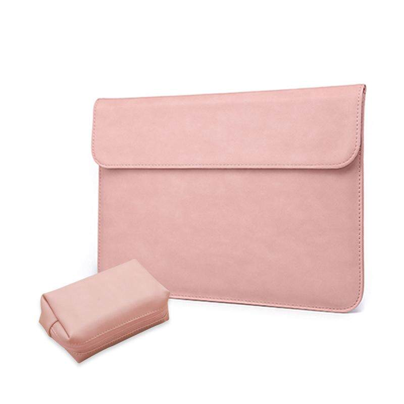 Laptop Bag Liner Case For Macbook Air 13 Inch With Power Bag Pink Leather Đang Có Khuyến Mãi