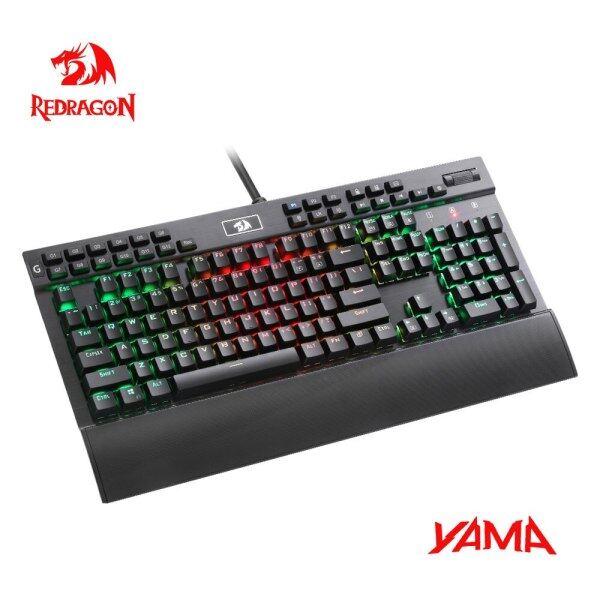 Nicetech Redragon YAMA K550 USB Mechanical Gaming Keyboard RGB Purple Switch 104 Key Backlit Anti-Ghosting PC Gamer for PC Computer Singapore
