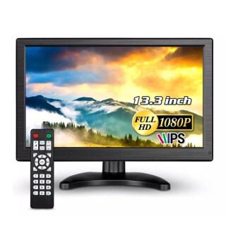 Eyoyo Màn Hình Cảm Ứng IPS HD 13.3 Inch Màn Hình Hiển Thị LCD 1920X1080 16 9 Hỗ Trợ Đầu Vào USB HD VGA AV BNC Cho Máy Vi Tính Máy Tính Xách Tay Máy Tính Hệ Thống CCTV An Ninh Gia Đình Có Loa thumbnail