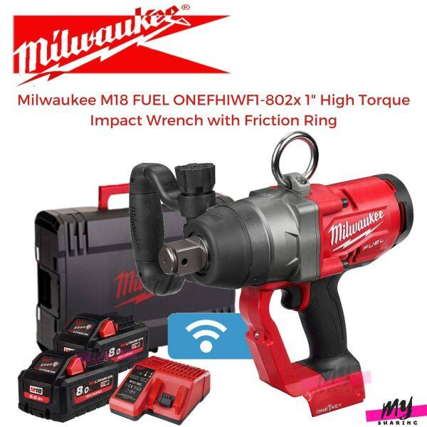 Milwaukee M18 FUEL ONEFHIWF1-802X 1 High Torque Impact Wrench with Friction Ring