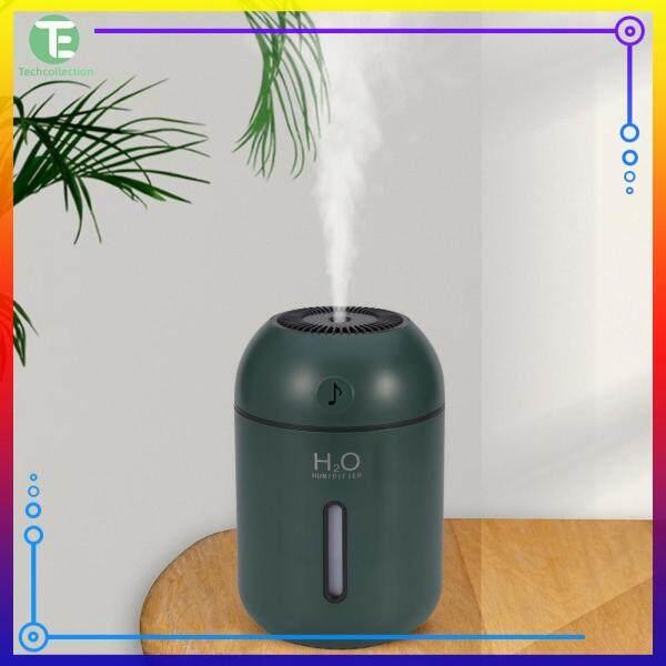 Portable USB Air Humidifier Home Car Mist Maker Night Lamp Office Air Purifier White/Pink/Green Singapore