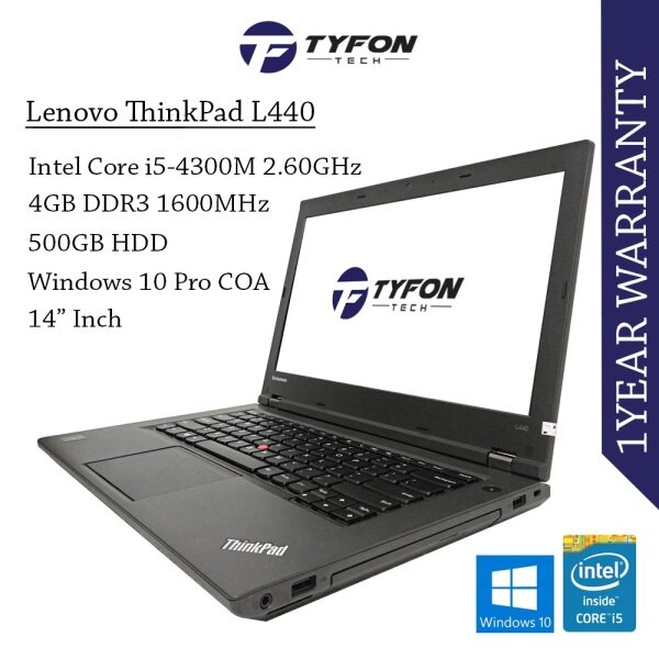 Lenovo Thinkpad L440 i5 Laptop (Refurbished) Malaysia