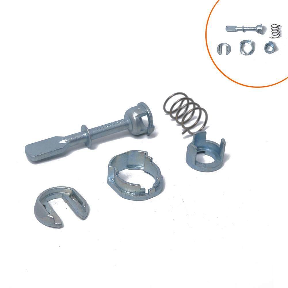Lb Kunci Pintu Mobil Kit Perbaikan Silinder Kanan Kiri Depan untuk Polo Relacement 6N0837223A