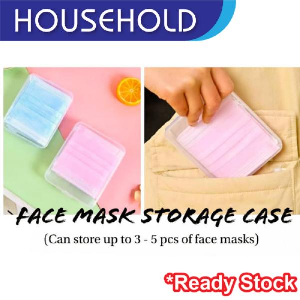(MALAYSIA READY STOCK) FACE MASK STORAGE CASE