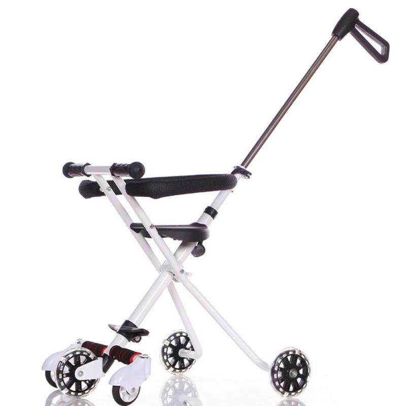 Okcitysz Baby stroller Import Micro 5 Wheel Stroller Trike High Artifact Cart Portable Folding Tricycle travel stroller,stroller pushchair Singapore