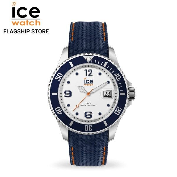 Ice-Watch ICE steel - White Blue (Large) Malaysia