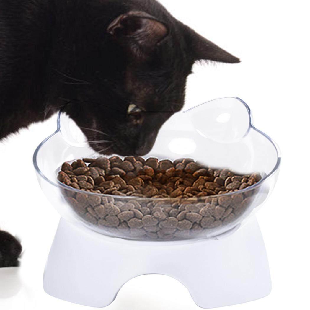 Chén Ăn cho thú cưng Nghiêng Bảo Vệ Cổ chống trơn trượt Hình Mèo Bát Ăn Mèo Bát - 6