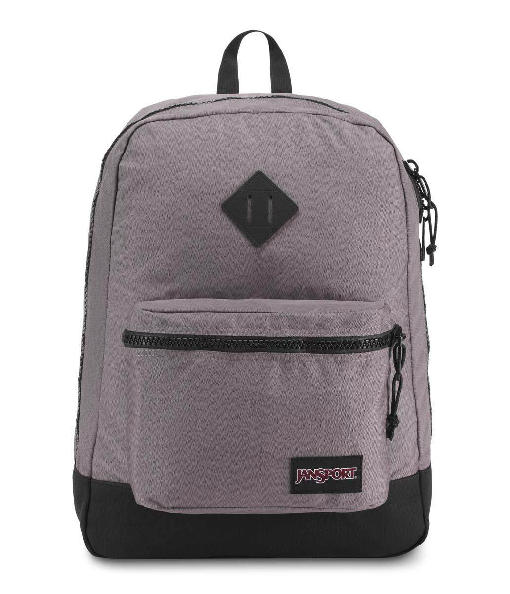 a593365d090 Jansport Super Fx Grey Optical Zig Zag Backpack - 25L