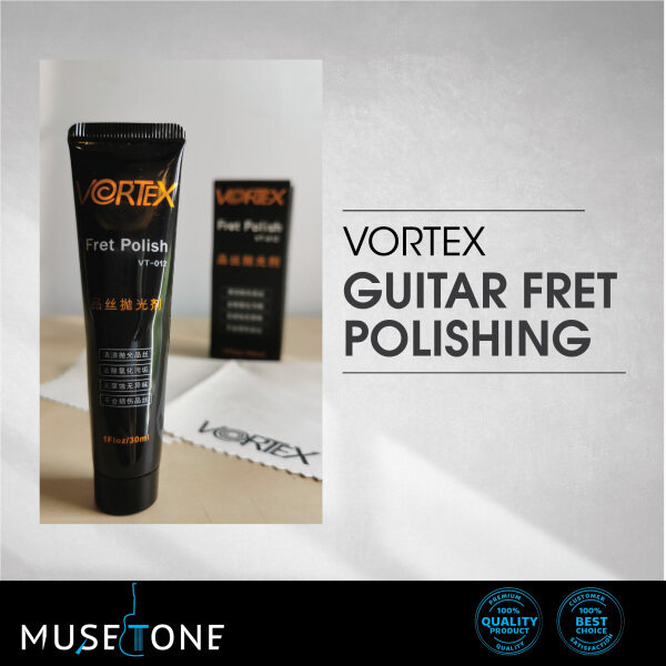 Vortex Fretwire cream type Cleaner for fret wire suitable for Guitar, Bass Malaysia