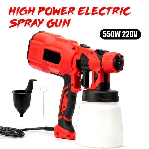 【Free Shipping】550W 220V High Power Spray 1.8/2.5MM Nozzle Home Electric Paint Sprayer Eas