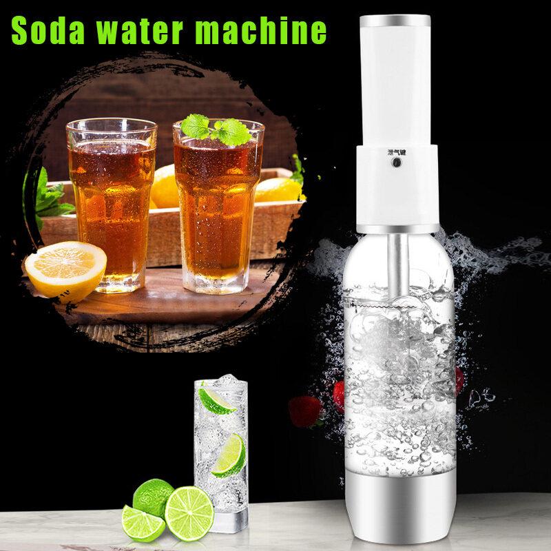 แบบพกพาโซดาฟองเครื่อง DIY ประกายคาร์บอเนตน้ำชงสำหรับบ้านดื่มร้านค้า