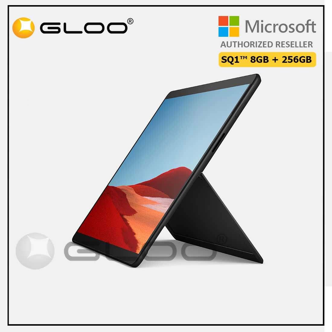 Microsoft Surface Pro X SQ1™/8GB RAM -256GB LTE Black Malaysia