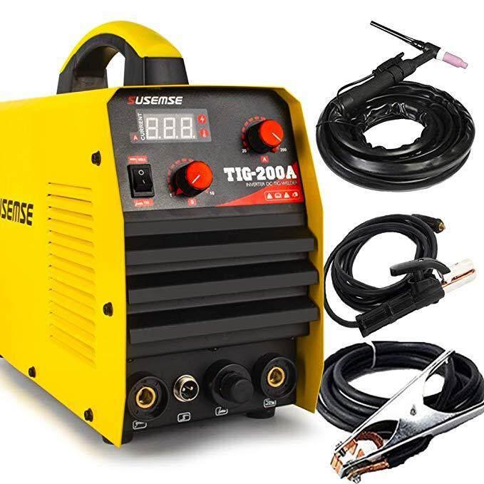 TIG200A TIG Welder Tig/Arc/Stick Tig Welding Machine 220V DC 200Amp Inverter IGBT MMA Digital Display