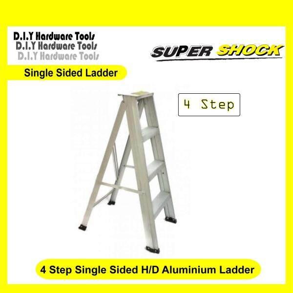 TG Ladder 4 / 5 / 6 STEP SINGLE SIDED ALUMINIUM LADDER / Tangga Aluminium 4 /5 / 6 langkah