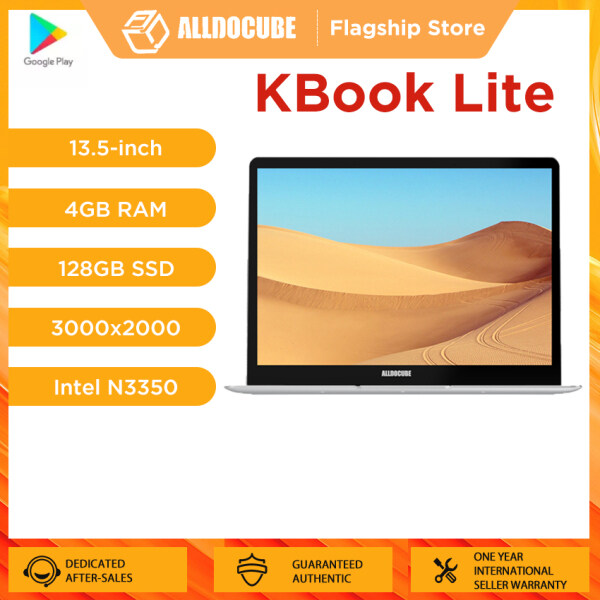 Alldocube Laptop Kbook Lite 13.5 inch intel Apollo lake N3350 3K 3000*2000 IPS Notebook 2020【Flagship Store】 Malaysia