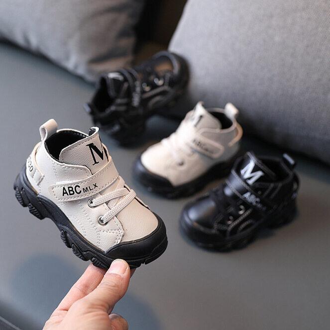 Trẻ Em Giày, Giày Thể Thao Da Mới 2021 Giày Cho Bé Gái Bé Trai Trẻ Sơ Sinh, 10 Tháng Thủy Triều Thời Trang Trọng Lượng Nhẹ Đế Mềm 1-2-3 Năm Tuổi giá rẻ