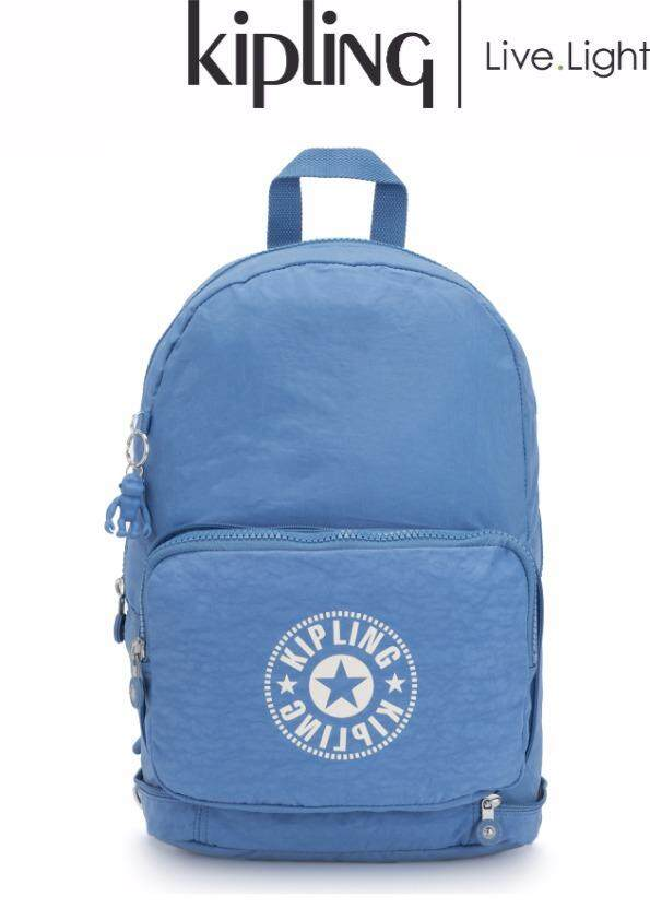 130fecdbba KIPLING CLASSIC NIMAN FOLD Dynamic Blue - Large Backpack/ Ladies Casual  Sport Travel Everyday Lightweight