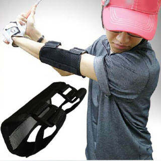 Qianmei (Hàng Có Sẵn + Bán Chạy) Dụng Cụ Hỗ Trợ Tập Đánh Golf Nẹp Khuỷu Tay Luyện Tập Thẳng Dụng Cụ Điều Chỉnh Báo Động SwingTrainer thumbnail