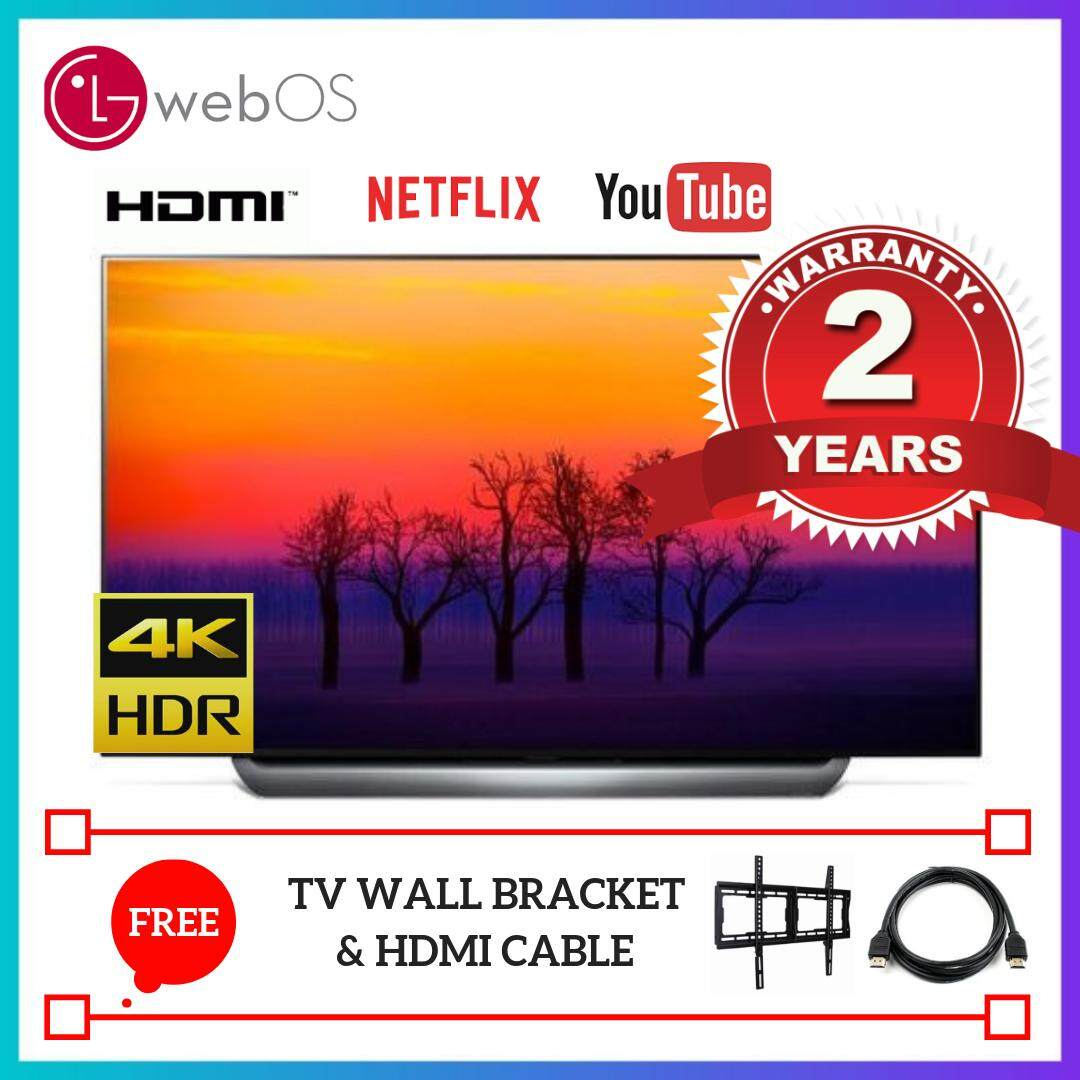 LG 55 Inch HDR Smart 4K UHD OLED TV OLED55C8PTA 2 Years LG On-Site Warranty