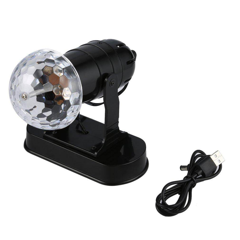 Lighting If You Want A Simple Highpower Unit For Stage Lights Uinn Led Rgb Crystal Light Rotating Rainbow Color Effect Disco Dj
