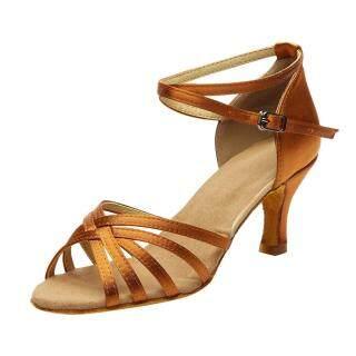 Giày khiêu vũ cho nữ màu trơn êm ái thiết kế đơn giản sang trọng KIO thumbnail