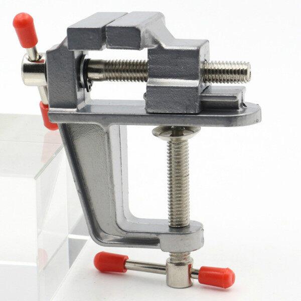 Tool On Clamp Small Bench Mini Miniature Vice Vise Muliti-Funcational Table Aluminum Jewelers Hobby