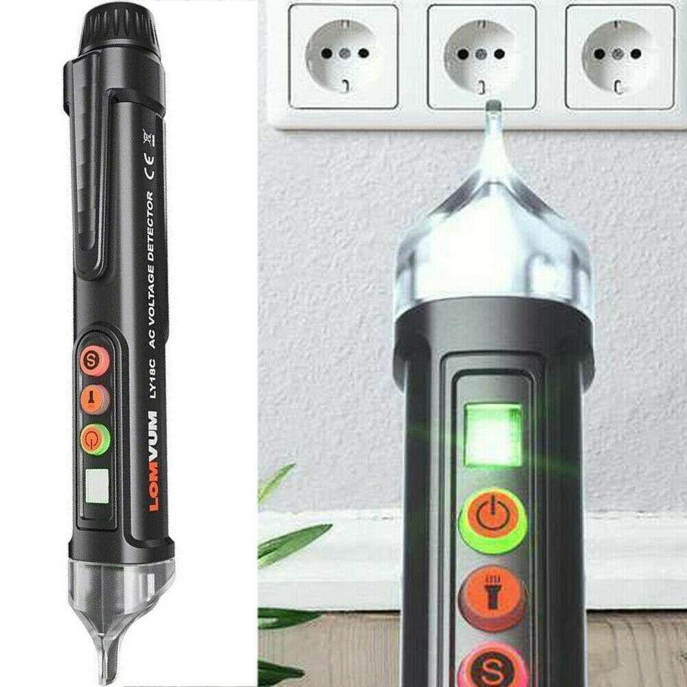 AC/DC Voltage Test Pencil 12V/48V-1000V Voltage Sensitivity Pen Detector