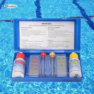 Bộ Dụng Cụ B-F PH Clo Kiểm Tra Chất Lượng Nước, 1 Bộ Phụ Kiện Dụng Cụ Kiểm Tra Thủy Lực Hồ Bơi thumbnail