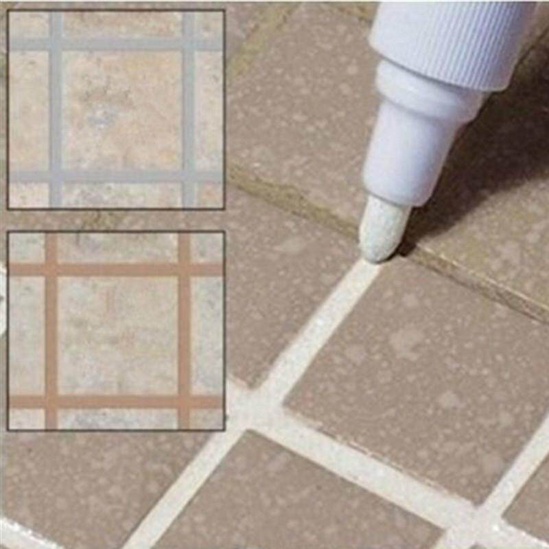 Home Tile Grout Marker Repair Wall Pen White Grout Marker Odorless Non Toxic for Tiles Floor 8 Colours Chose