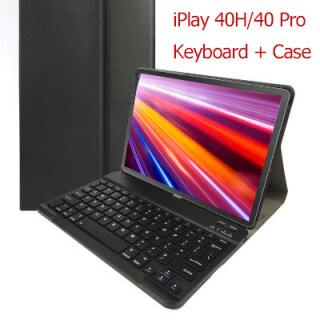 Alldocube iPlay 40H 40 Pro Case with Keyboard 10.4 Inch Shell Tablet PC Stand Pu Leather Case Business Case for Alldocube Stand Tablet Case with Keyboard thumbnail