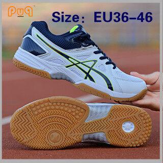 PUQ EU36-46 Cỡ Lớn Giày Bóng Chuyền Chuyên Nghiệp Mới Mùa Xuân Cao Cấp 45 Giày Cầu Lông Nam Giày Bóng Bàn Nữ Giày Tập Chống Trượt Giày Thể Thao Giày Tennis thumbnail