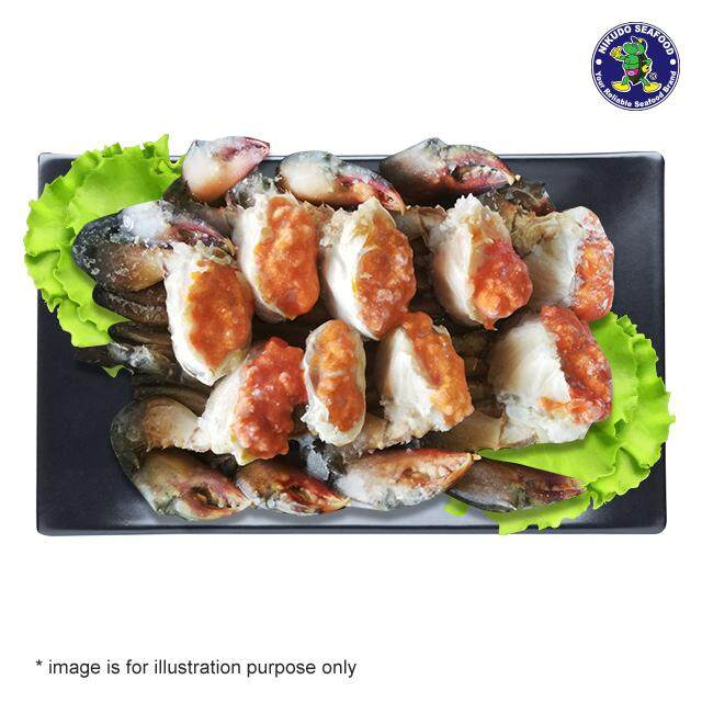 (KL & Selangor Delivery Only) Nikudo - Sabah Mud Crab Female Cleaned (With Roe) (1kg/pkt)