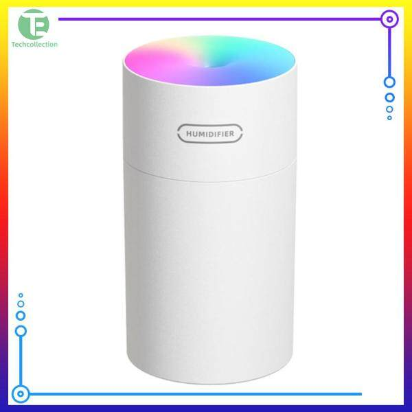 Techcollection Timing USB Ultrasonic Dazzle Cup Humidifier Essential Oil Aroma Diffuser Singapore