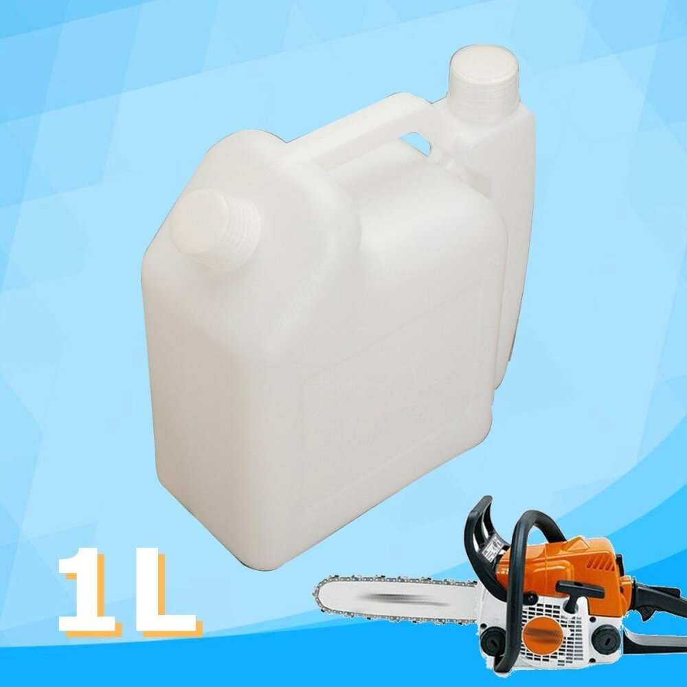 1L Oil Petrol Fuel Mixing Bottle Tank 2 Stroke for Chainsaw Trimmers 1:25 50:1