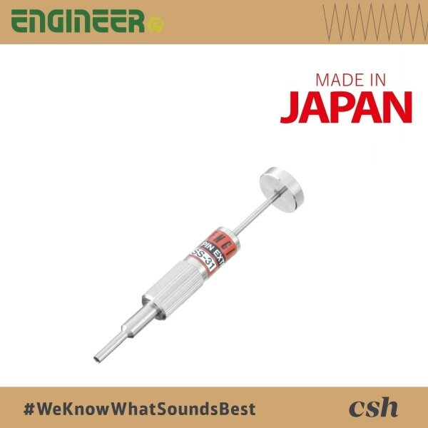 ENGINEER SS30 / SS31 / SS32 / SS33 / SS34 Pin Extractor Perfect for extraction both pin and socket terminals (Made In Japan)
