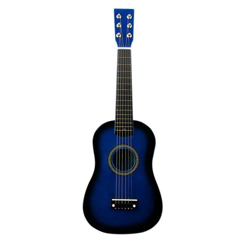 Irin Mini 23 Inch Basswood 12 Frets 6 String Acoustic Guitar With Pick And Strings For Kids / Beginners(Blue) Malaysia