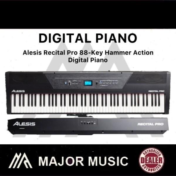 Alesis Recital Pro 88-Key Hammer Action Digital Piano Malaysia